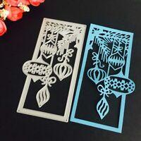 Christmas Lantern Metal Cutting Dies Stencil Xmas Scrapbook Card Craft k7d #vv