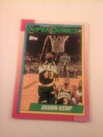 SHAWN KEMP Topps First ROOKIE card! SEATTLE SUPER SONICS NBA  Rc MINT