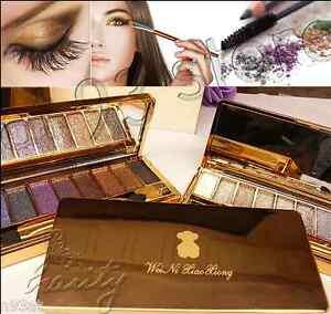 New Diamond Dazzle Bright 9 Colour Eyeshadow Eye Shadow Palette Glitter Makeup