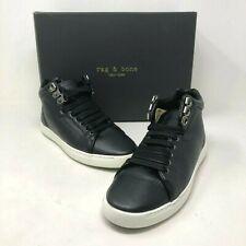 NIB $350 Rag & Bone Kent Leather High-Top Sneakers Size: US 6.5 EU 36.5 NEW