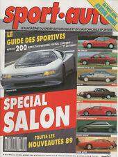 SPORT AUTO 321 1988 BMW M5 MERCE 190E 2.5-16 GP BELGIQUE ITALIE RALLYE 1000 LACS