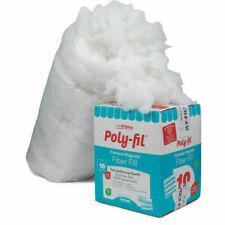 Fairfield PF-10 Poly-Fil Premium Polyester Fiberfill, White - 10lbs