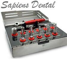 Bone Expander Kit Dental Implant Sinus Lift Instruments Screws Ratchet Stainless