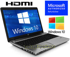 HP ProBook LAPTOP COMPUTER DUAL CORE 2.4GHz 4GB 320GB 15.6 Windows 10 KEY WEBCAM