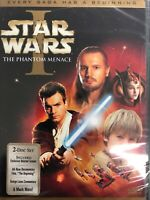Star Wars Episode I The Phantom Menace 2-Disc DVD Widescreen NEW Limited Edition