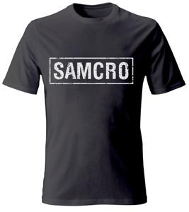 Sons of Anarchy Samcro Banner Herren T-Shirt