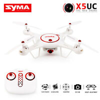 SYMA X5UC HD FPV Drone RC Quadcopter 2.4Ghz 4CH Altitude Hold Gyro Helicopter
