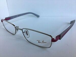 New Ray-Ban RB 1762 0125 50mm Silver Gray Men's Eyeglasses Frame