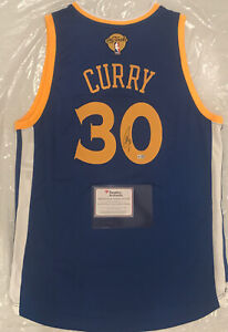 GSW Warrior Stephen Curry Authentic Signed Adidas Swingman Final Jersey Fanatics