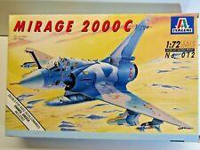 Italeri 1:72 Scale Mirage 2000C Model Kit - Kit # 012