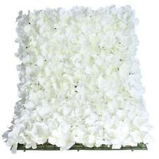 Flower Wall Panel 40cm x 60cm Cream Artificial Hydrangea