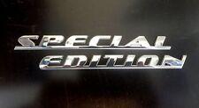 SPECIAL EDITION - Chrome Automotive Emblem Set