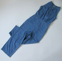NWT Point Sur J.Crew Wide-leg Chambray Jumpsuit in Serene Blue Crop 0 $110