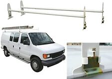 Pro-Series Multi-Use Full-Size Van Rack Roof Ladder 500lb Capacity New Free Ship