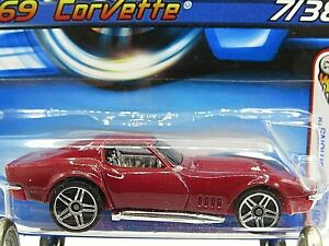 HOT WHEELS VHTF 2006 FIRST EDITIONS SERIES 69 CORVETTE