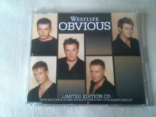 WESTLIFE - OBVIOUS - UK CD SINGLE