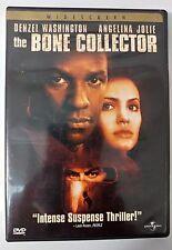 Video DVD - The Bone Collector - Washington Jolie WS Excellent (EX) WORLDWIDE