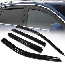 FOR 07-16 COMPASS MK49 SMOKE TINT WINDOW VISOR SHADE/VENT WIND/RAIN DEFLECTOR