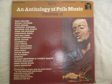 Anthology Of Folk Music Volume II Sine Qua Non 4 LP Box Set