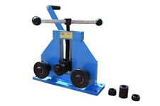 METZ TOOLS Bench Mounted Ring Roller Flat Bar Square Tube/Pipe roll Bender