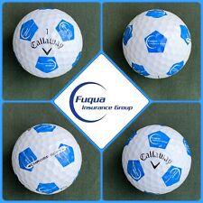 (1) Callaway Chrome Soft Truvis Golf Ball - Fuqua Insurance Group - Usa Company