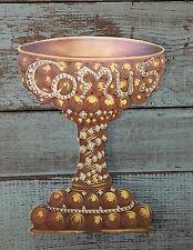 Mystic Krewe of Comus Mardi Gras Invitation 1973 Chalice New Orleans