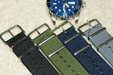 NATO G10 Nylon Military Divers Watch Strap MOD Design 22mm Spring Bars & Tool