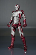 Iron Man Mark 5 Mk V + Hall Of Armor Set S. H. SH Figuarts Action Figure BANDAI