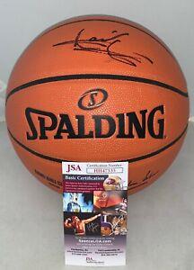 Isiah Thomas Detroit Pistons signed F/S NBA Replica Game Basketball Ball HOF JSA