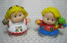 Fisher-Price ornament Little People Christmas Discoveries 2002 Angel Sarah Eddie