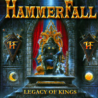 Hammerfall : Legacy of Kings CD (1998) ***NEW*** FREE Shipping, Save £s