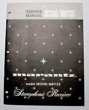 MARANTZ SR3100/MR1135 SERVICE MANUAL ORIGINAL PAPER