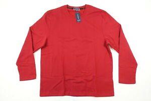 CLUB ROOM PLAID RED XL FLEECE PAJAMA SLEEPWEAR SET SWEATSHIRT CREWNECK MENS NWT