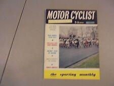 MARCH 1969 MOTORCYCLIST ILLUSTRATED MAGAZINE,BSA RANGE,HONDA TITAN,BICKERS,FATH