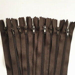 20-50pcs 3# Nylon Coil Zippers Tailor Sewing Craft (18 Inch) Crafter's