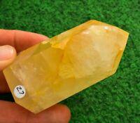 Quartz Golden Healer✔ Crystal Rock Mineral AA+ Standing Point 💎UK✔ 9cm 195g #27