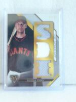 2016 Topps Triple Threads Buster Posey Jersey Relic SF Giants #/27  *L@@K*