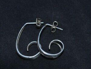 Ed Levin sterling silver earrings