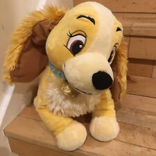 Disney Store Lady And The Tramp Lady Soft Toy Plush 12 Inches