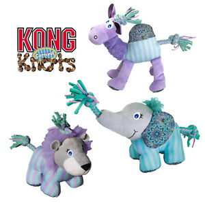 KONG Knots Carnival Dog Toy - Durable Fun Play Toy - Camel, Elephant, Lion