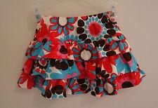 New Kelly's Kids Happy Daisy Avery Triple Ruffle Skirt Girl's Sz 2