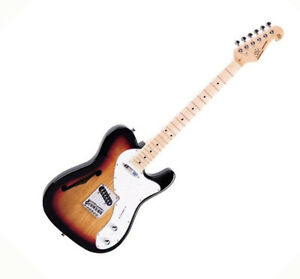 SX  ELECTRIC GUITAR THINLINE TELE STYLE IN VINTAGE SUNBURST SPECIAL OFFER