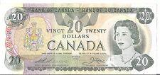 1979 Canada $20 Twenty Dollar Note - Thiessen/Crow - Prefix 52 - CBN