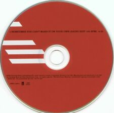 U2 SOMETIMES YOU CAN'T MAKE IT ON YOUR OWN USA Promo CD 103 BPM Rare