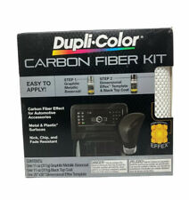 Dupli Color Carbon Fiber Kit Paint Spray Kit With Graphite Metallic Cfk100 Auto