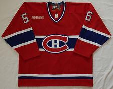MONTREAL CANADIENS Alain Nasreddine #56 GAME WORN PRO PLAYER JERSEY Devils coach