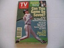 TV GUIDE 7/8-1/14 1995 - DONALD TRUMP! -CAL RIPKIN COVER (WASH/BALT EDIT)