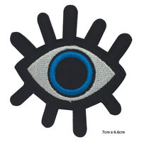 Evil Eye Movie Embroidered Patch Iron on Sew On Badge For Clothes Bags etc