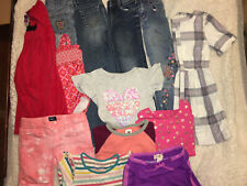 Large 13 Piece Lot Of Size 6 Girls Clothing Tops Bottoms Dresses& More