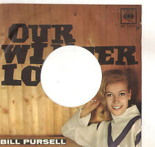 BILL PURSELL - OUR WINTER LOVE - SOLO COPERTINA - ONLY COVER - EX
